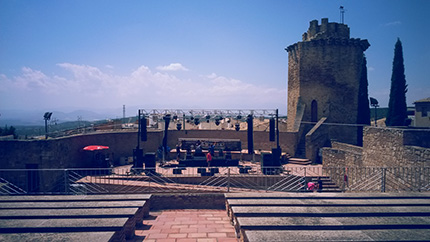 Los Brazos - Auditorio Torres Oscuras Vista Superior